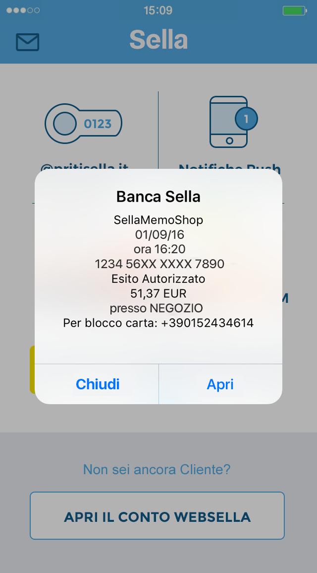 applicazione banca sella